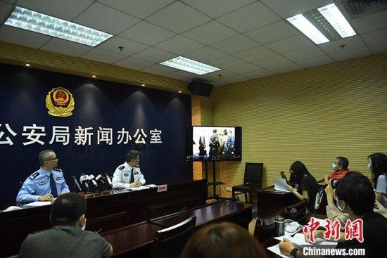 5月8日,广州警方通报称,今年以来,该市警方共侦破疑难命案积案30宗。 中新社记者 姬东 摄