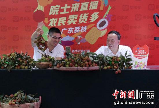 中国工程院院士携手雷州市长拼多多助农直播