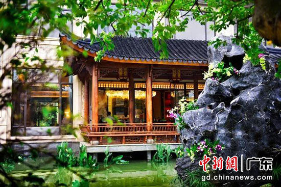 萝峰村旧改展示中心 星河湾供图