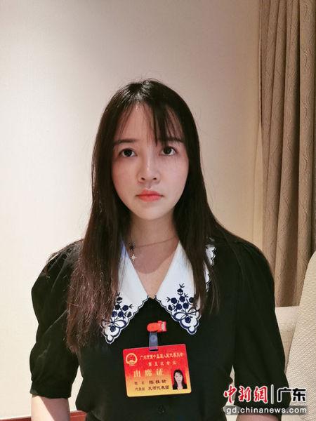 广州市人大代表、广州玖的数码科技有限公司法务陈桂针