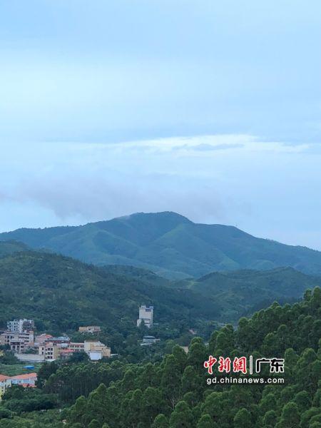 图为惠东县安墩镇水美村。惠东县供图