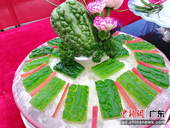 杜阮凉瓜菜式。李健群 摄