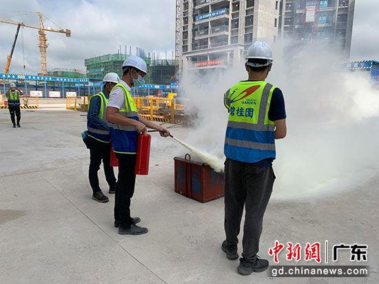 碧桂园粤西区域开展2020年度安全生产月活动