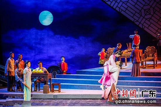 大型原创民族歌剧《血色三河》剧照 创演方供图
