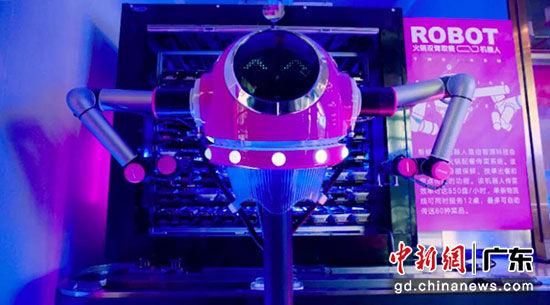 火锅双臂取餐机器人 供图:吴猛