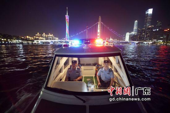 广东水警。 警方供图