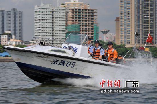 广东水警。警方供图