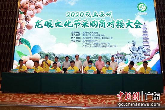 广东高州举行2020龙眼文化节采购商对接大会