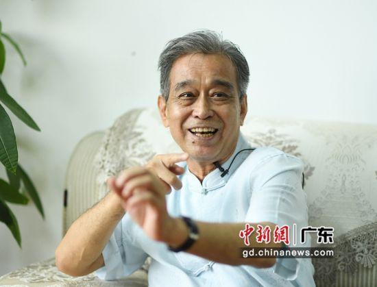 图为梁桂全教授。 姬东 摄