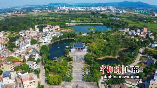 惠城区三栋镇鹿颈村。通讯员 供图
