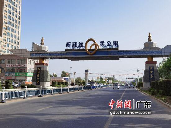 叶城县的新藏线起点。通讯员 供图