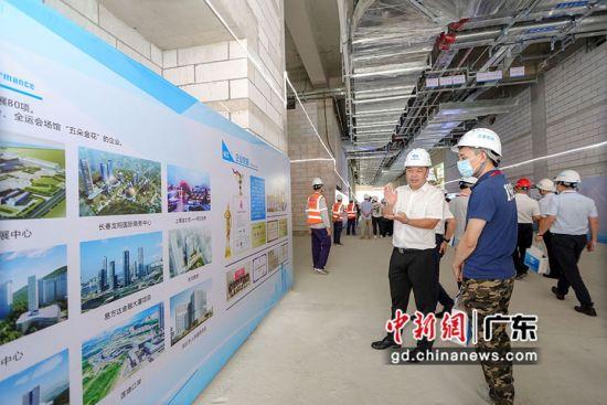 上海宝冶广州分公司在深圳技术大学项目举办企业开放日活动。程景伟摄影