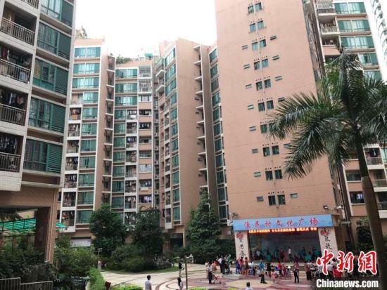 深圳渔民村。 索有为 摄