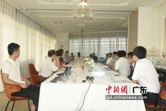 中国-加纳经贸投资洽谈会在广州二沙岛举行。程景伟摄影