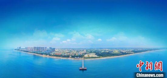 湛江市鼎龙湾国际海洋旅游区(资料图) 王颖 摄