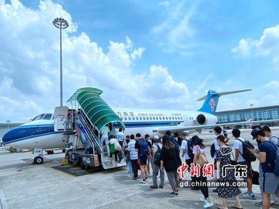 南航ARJ21飞机开始执飞广州-湛江航线。南方航空供图