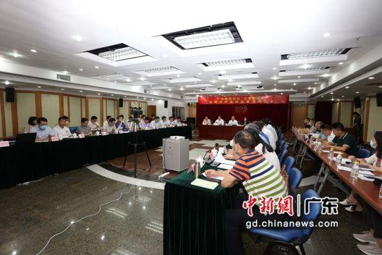 9月2日,广东省贸促会与京东智联云在广州举行战略合作座谈会暨签约仪式。周丹 摄