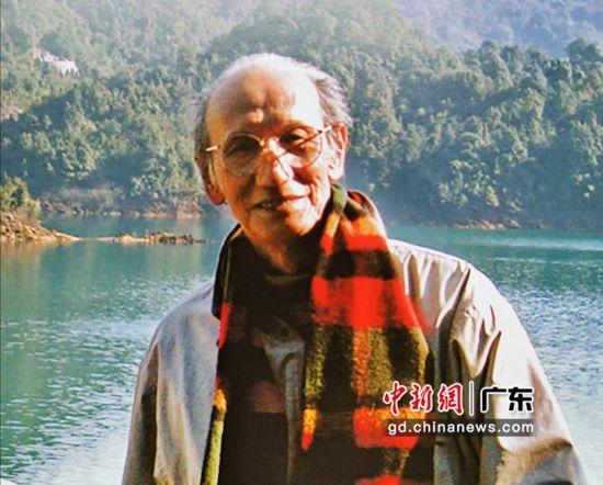 广东已故著名书画家何为。 陈一言 供图