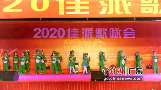 佳派歌咏会在龙川县举行 多角度展示脱贫攻坚成果。作者:�P辛亮
