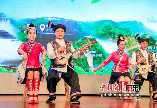2020年张吉怀(广州)旅游推介会近日在广州举行。通讯员 供图