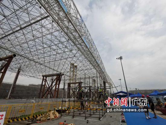 南航GAMECO飞机维修设施三期工程项目 。作者:郭军