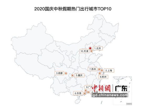 北京、上海、深圳、广州等为前十热门出行城市 陈庆麟供图