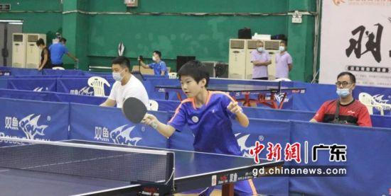 比赛现场。广州市乒乓球协会 供图