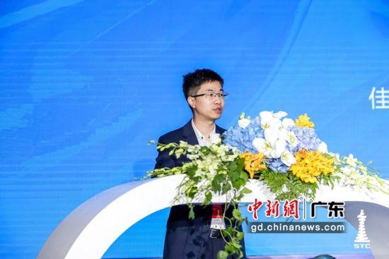 佳都科技董事兼高级副总裁刘佳致辞。佳都科技 供图