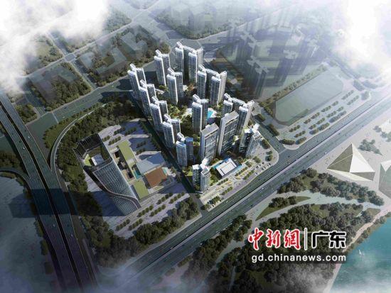 大型城市综合体世茂滨江壹号效果图。图片来源:世茂滨江壹号