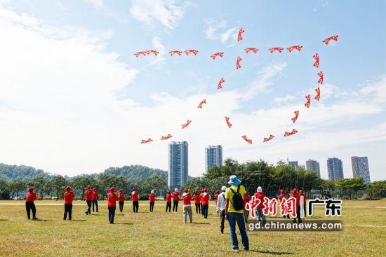 2020年全国风筝邀请赛在广东阳江举行。通讯员 供图