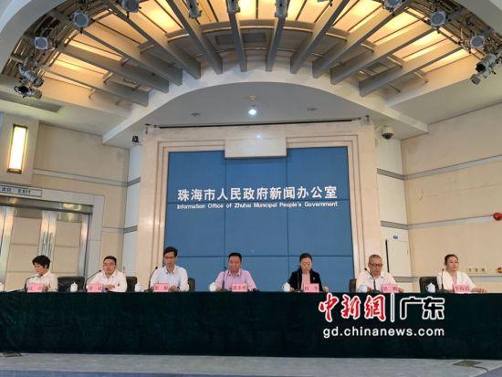 珠海市人民政府新闻办公室举行新闻发布会解读日前出台的集成电路产业扶持政策。邓媛雯摄
