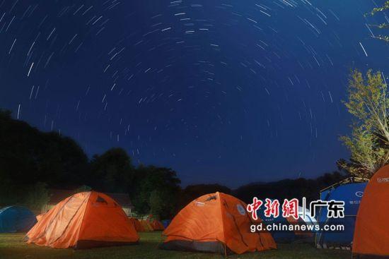 亲子户外营地体验活动现场。 广州市体育总会 供图