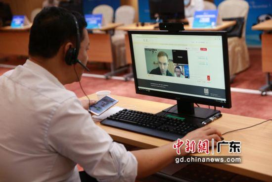 线上线下同撮合,广东中行升级进博会跨境撮合服务。中国银行广东省分行 供图