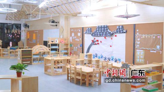 幼儿园环境。许青青摄影