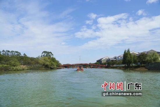 华阳湖国家湿地公园已成为兼具水利、农田、生态修复、环保、文化创意功能的生态旅游区。中麻涌宣供图