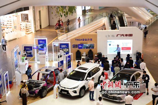 图为广汽丰田TNGA安全沙龙深圳站活动现场。