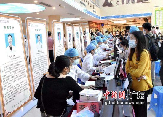 国内知名中医大咖、膏方专家现身第五届珠海中医膏方节。刘星摄