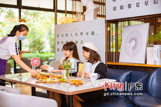 粤餐厅跨界打造文化空间 何旭婷供图