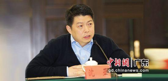 广州创新企业联盟第一任会长、唯品会董事长沈亚。 广州创新企业联盟 供图
