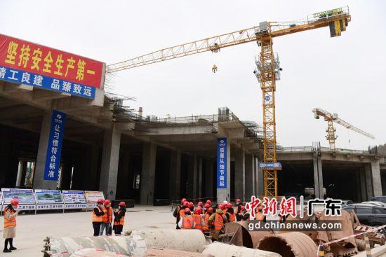 探访深圳在建最大地铁停车场——赤湾停车场