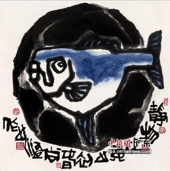 尚涛《静物鱼》。受访者 供图