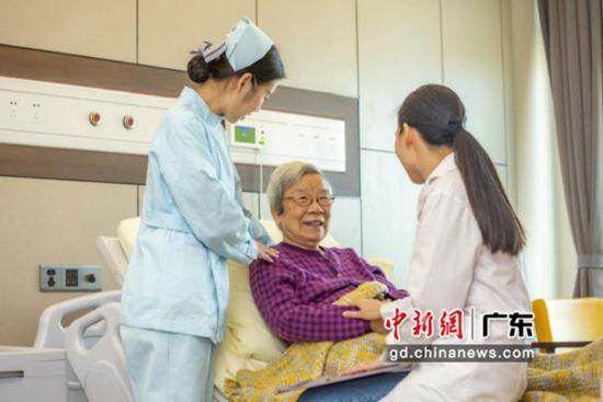 广州番禺首家医办养老中心开业。作者:郭军