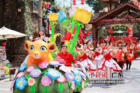 深圳东部华侨城新春前两日累计接待近3万游客