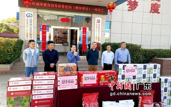 中鐵六局建設者新春堅守贛深鐵路工地