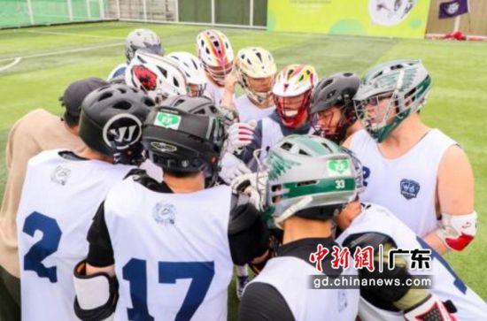 2021年拉克洛斯六人制棍网球联赛在上海拉开战幕。通讯员 供图