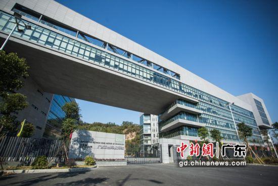 广东以色列理工学院校园。 作者 广以宣