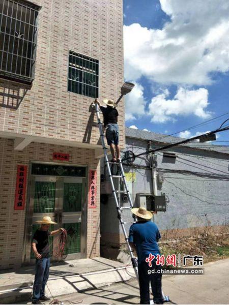 图为惠州市惠城区水口街道澳背村投入300万元绿化美化村庄。 作者 惠城宣 供图