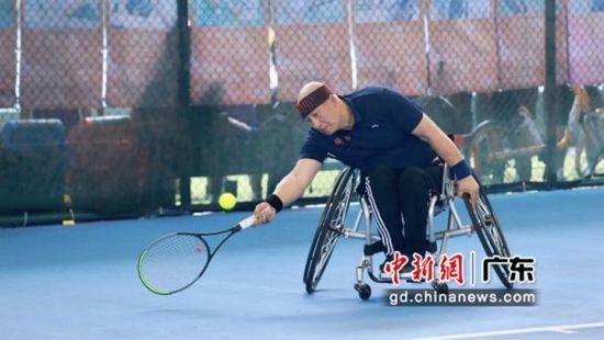 全國第十一屆殘疾人運動會網球比賽在穗開幕 11支代表隊參賽