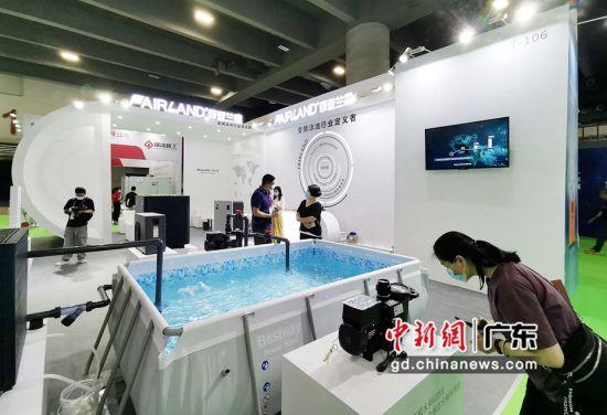 2021亞洲泳池SPA博覽會在穗開幕