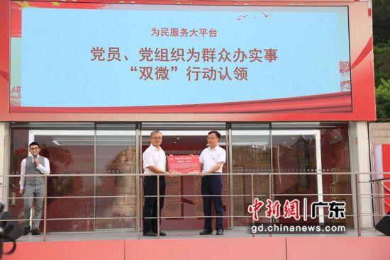 學習實踐大篷車首次開進廣州增城鄉村